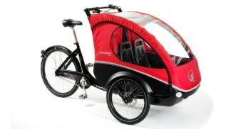 Ladcykler og trehjulet med El-motor