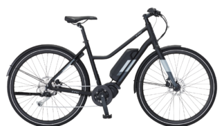 "28"" E-Fly Pace Sort/Mat Elcykel"