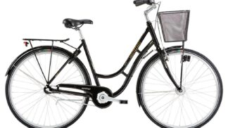 """28"""" Winther Shopping Classic Alu sort dame"""